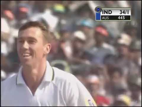 Australia vs India @ Kolkata 2001  The Greatest Test Match of All Time    Full Match Highlights