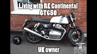 Living with the Royal Enfield Continental GT 650 uk - The Caffiene Racer ep1 v3