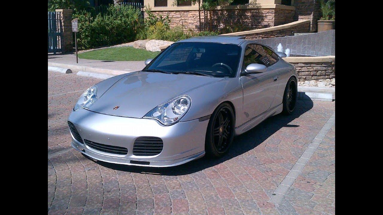Porsche 996 Mods 2002 911 Carrera Exhaust Black Wheels Lowered Bumpers Etc Youtube