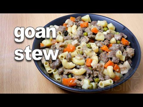 Goan Stew Recipe | Goan Beef Stew ||*Fatima Fernandes | Goan Beef Recipes | Goan Food