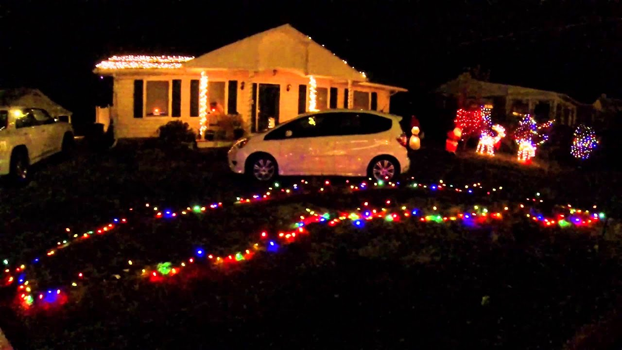 ... year with Light-O-Rama 16 channel christmas light controller - YouTube