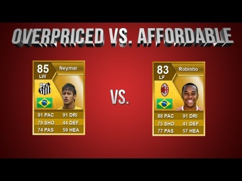 FIFA 13 | OverPriced vs Affordable EP 6: Neymar vs Robinho