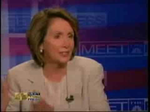 Nancy Pelosi vs. The Catholic Church!