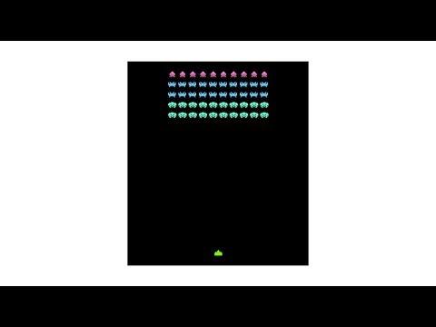 Space Invaders #1 - HTML5 Game Programming Tutorial [javascript]