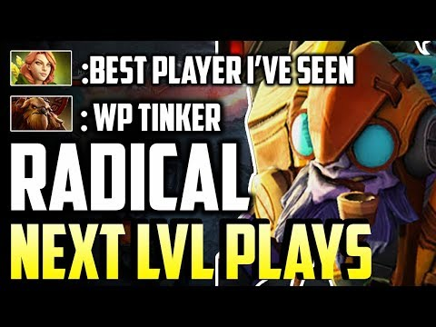 Radical - Even His Enemy Know He Is The Best Tinker Patch 7.16 Dota 2