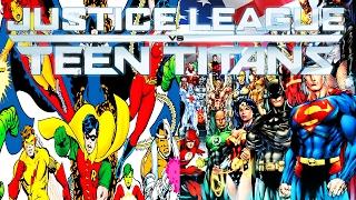 JUSTICE LEAGUE VS. TEEN TITANS │ Comic History