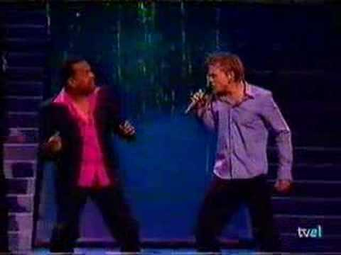 Eurovision Copenhage 2001 Winner Estonia Dave Benton & Tanel video