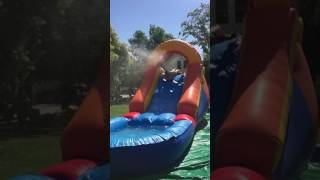 Funny Inflatable Water Slide Face Plant