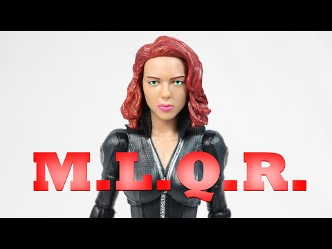 MLQR Marvel Legends Quickie Review Black Widow Captain America The Winter Soldier Action Figure