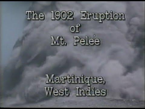 The 1902 Eruption of Mount Pelee - USGS - 1980s