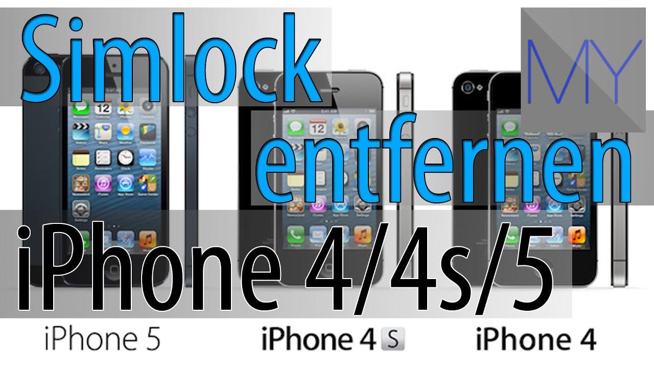 Simlock entfernen für jedes Iphone - frei für alle Netze