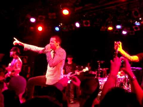 "Chester Bennington ""Bullet W/Butterfly Wings"" (rat in a cage) 90's Camp Freddy 12-18-09"