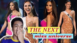 REACTION VIDEO: Catriona Gray Preliminary Performance Miss Universe 2018