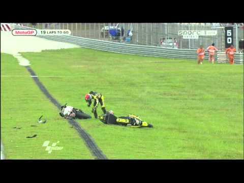 Simoncelli crash Sepang sport1