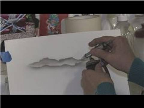 Airbrushing Techniques  How To Airbrush Clouds - YouTube