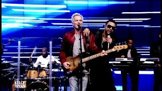 Sting Shaggy Perform 34 Morning Is Coming 34 Live Kelly Ryan