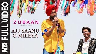 Ajj Saanu O Mileya (The Anthem of Dreams) Full Video Song | ZUBAAN  | Vicky Kaushal | T-Series