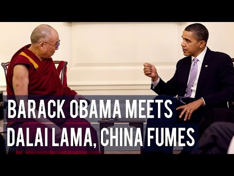 Barack Obama meets Dalai Lama, China fumes