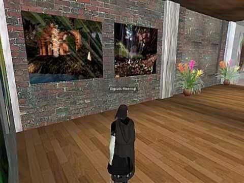 Second Life Artist Teal Freenote - A Digital Art Revolution Interview