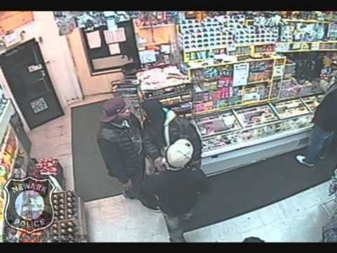 HOMICIDE CAUGHT ON TAPE IN NEWARK, NEW JERSEY 12/24/2010