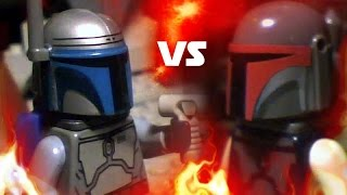 LEGO Star Wars - Jango Fett vs Montross
