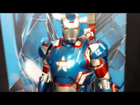 Hot toys Iron Patriot - OMG mime Showcase