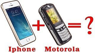 Iphone+motorola=?