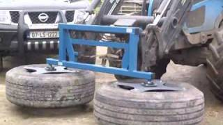 McCabe Agri Products Silage Pusher