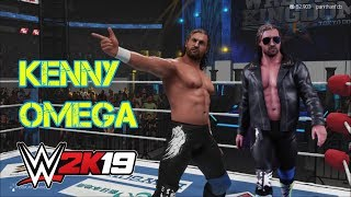 WWE 2K19: Kenny Omega - All Moves, Rain-Trigger, V-Trigger, One Winged Angle & Many More!! (PS4)