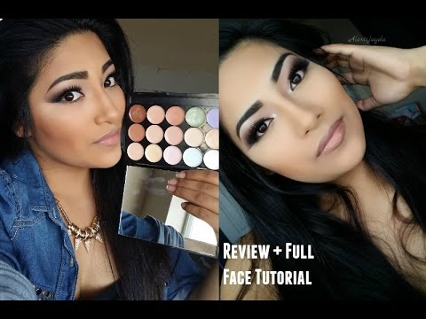 BEAUTY EVOLVED Primer. Concealer. Corrector Palette Review + Full Face Contouring + Highlighting
