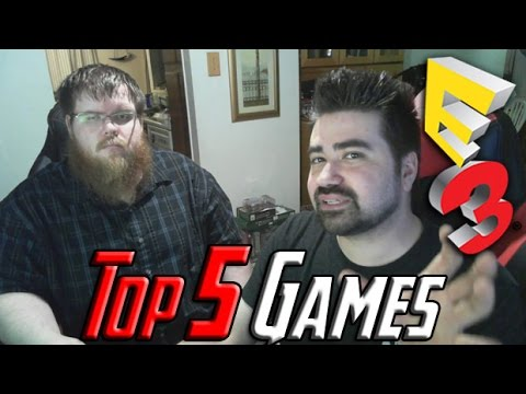 AngryJoe's Top 5 Best Games E3 2015! [Vlog]