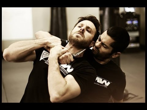 Krav Maga Technique: Knife Defense in a Hostage Situation: Krav Maga Worldwide - Self Defense