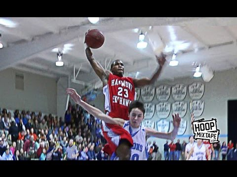 Here is 6'2 Seventh Woods' debut Hoopmixtape from his freshman year.