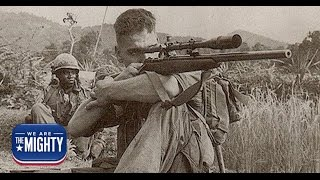The Marine who made history's 5th longest sniper kill (with a machine gun)