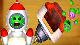 ZOMBIE SPACE MISSION PRO | Kick The Buddy Game Anti Strees