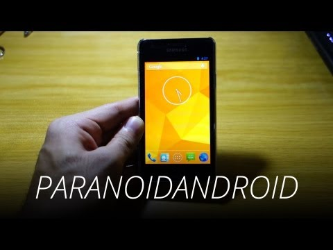 How to Install ParanoidAndroid 3 ROM on Samsung Galaxy S2 GT-i9100