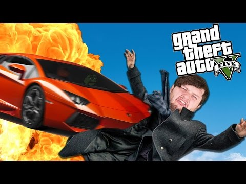 GTA 5 PC Online Funny Moments - TANKS VS LAMBOS! (Custom Games)