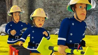 Fireman Sam New Episodes   Viaduct bridge on fire! - 1 Hour Compilation 🔥 Cartoon for Children