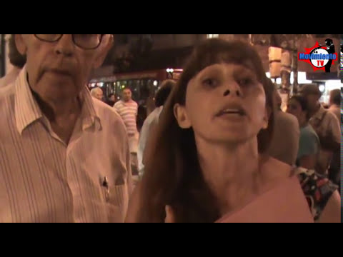Edesur queremos luz! - Corte de calle en Villa Crespo - 23/Enero/2013