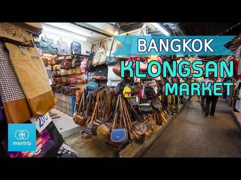 Klongsan riverside night market Bangkok : Meetrip