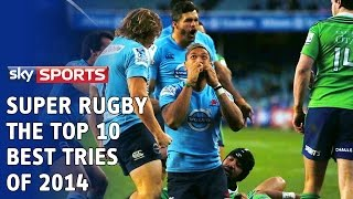 Top 10 Super Rugby Tries of 2014 | Super Rugby Video Highlights