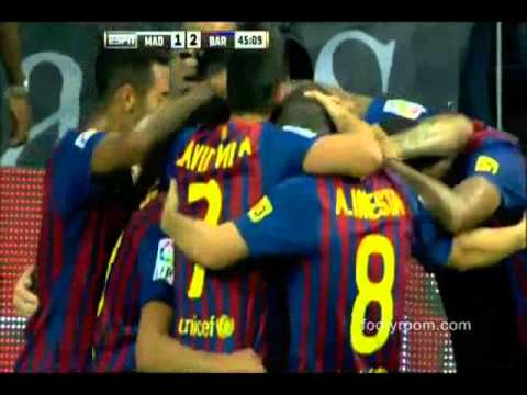 Real Madrid 2-2 Barcelona Goals Highlights HD 14/08/2011 Supercopa de España