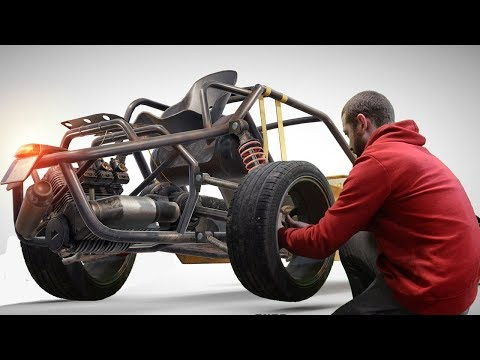 How to make buggy from Playerunknown's battlegrounds. Part 1