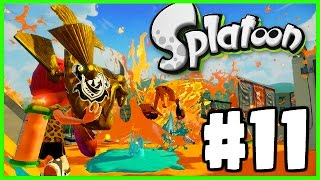 MOST EPIC GUN EVER! - Splatoon - Splatoon Gameplay Walkthrough Part 11 - THE RAINMAKER!