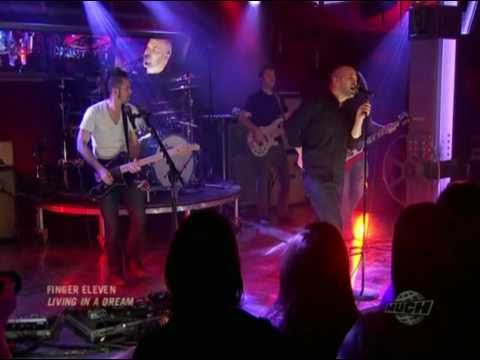 Finger Eleven - Living In A Dream (Live @ Much New Music 2010)