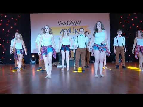Performance-1 Friday night at Warsaw Zouk Festival 2019 ~ Zouk Soul