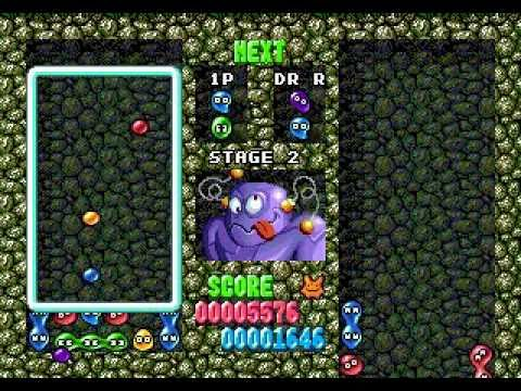 Dr. Robotnik's Mean Bean Machine - walkthrough - part 1