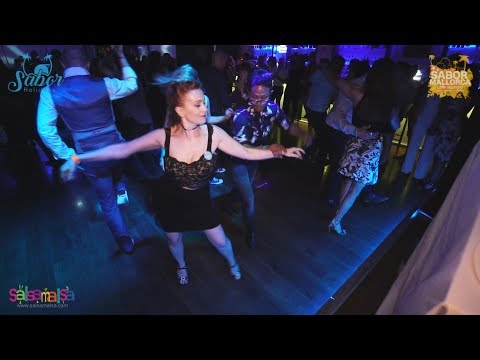 Edwin & Yelena Social Salsa Dance Video | SMLW17