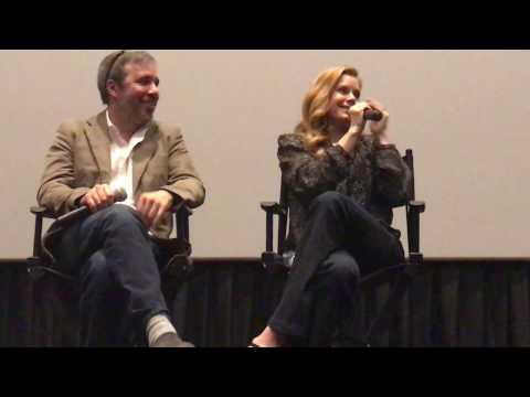Amy Adams & Director Denis Villeneuve For Arrival Movie Q&A
