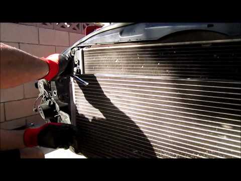 mini cooper s 2005 how to change the cooling fan